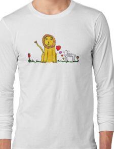Tane's Lion and Lamb Long Sleeve T-Shirt