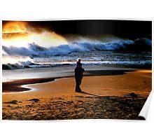 BEACH COMBING... Poster