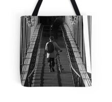 the lonely commuter Tote Bag