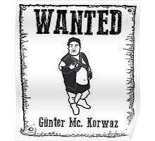 Günter Mc. Korvas Poster