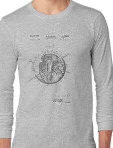 Spherical Satellite Structure patent 1957 Long Sleeve T-Shirt