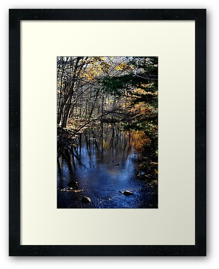 Beautiful River, Chester, CT by kailani carlson