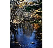 Beautiful River, Chester, CT Photographic Print