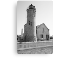 Lighthouse - Mackinac Point, Michigan Canvas Print