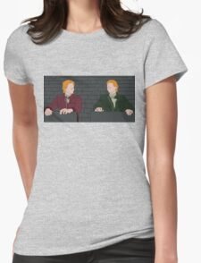 The Weasley Twins Womens Fitted T-Shirt