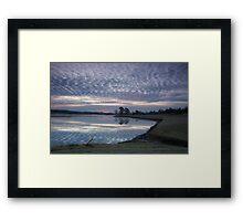 Morning Good Framed Print