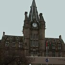Royal Infirmary Clock Tower by Tom Gomez