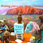 Merry Christmas From Teds Soapbox by Virginia McGowan