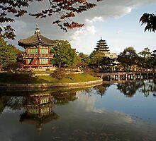 Gyeongbokgung Palace Seoul by reisefoto