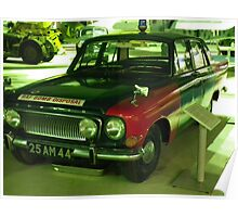 Ford Zephyr mk111 in bomb disposal livery Poster