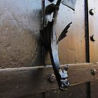 Unusual door knocker by buttonpresser