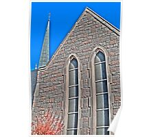 HDR - SSLC - Stone Facade and Steeple Poster