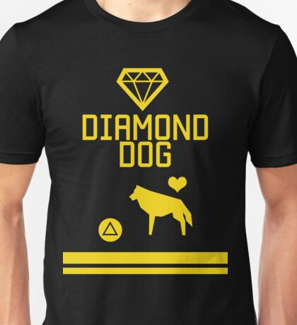 DD - Press △ to love dog Unisex T-Shirt