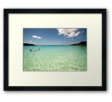 Anse Lazio PRASLIN , SEYCHELLES Framed Print