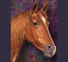 Brown Horse Painting  Unisex T-Shirt
