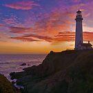 Sunset at Pigeon Point by MattGranz