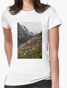 Mountain valley Womens Fitted T-Shirt