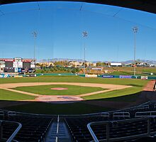 Isotopes Stadium by Steve Hunter