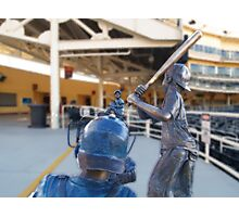 """""""Batter Up"""" Photographic Print"""