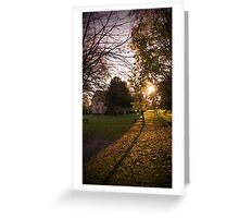 The Manor House Greeting Card