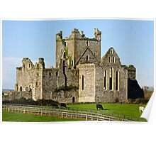Dunbrody Abbey, County Wexford, Ireland Poster