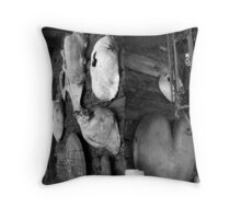 Burl Art - Kirby, OR Throw Pillow