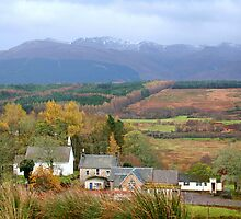 Fort William area & Ben Nevis by hjaynefoster