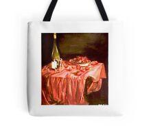 Strawberries and Tuscan Wine Tote Bag