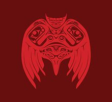 Raven Crow Pacific Northwest Style by VorpalVector