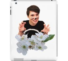 Dan Howell ft. Flowers iPad Case/Skin
