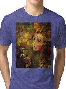 Carnival - New Orleans Mardi Gras Splendor Tri-blend T-Shirt