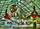 Boeing B17G - Hendon - Colour - HDR by Colin  Williams Photography