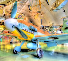 Messerschmitt Bf 109G-2 - Hendon - HDR by Colin J Williams Photography