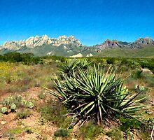 Mt. View, Las Cruces by Kurt  Van Wagner