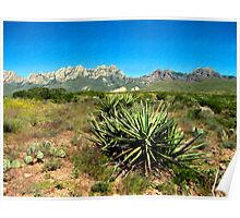 Mt. View, Las Cruces Poster