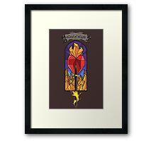 Lord of Light R'hllor Framed Print