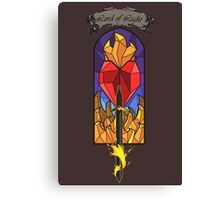 Lord of Light R'hllor Canvas Print