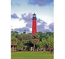 Jupiter Inlet Lighthouse Photographic Print