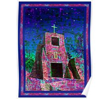Night Magic, San Miguel Mission Poster