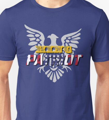 King Patriot Unisex T-Shirt