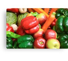 Colours of the kitchen Canvas Print
