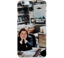 dana scully - x files iPhone Case/Skin