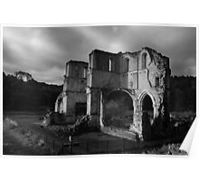 Roche Abbey, English Heritage Site Poster