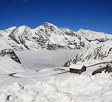 Austrian Mountains by Sue Leonard
