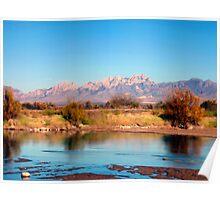 River View at Mesilla Poster