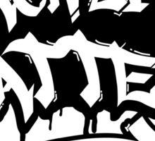 BLACK LIVES MATTER GRAFFITI  Sticker