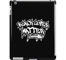BLACK LIVES MATTER GRAFFITI  iPad Case/Skin
