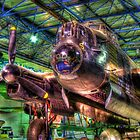 Avro Lancaster 1 - Hendon - HDR by Colin J Williams Photography