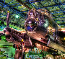 Avro Lancaster 1 - Hendon - HDR by Colin  Williams Photography