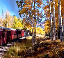 Fall train ride by Kurt  Van Wagner